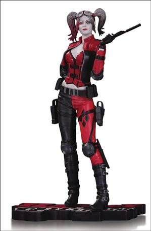 Harley Quinn: Red White and Black Statues Harley Quinn (Injustice 2) 1/5000