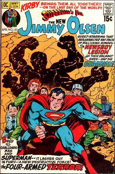Superman's Pal Jimmy Olsen 137-A by DC