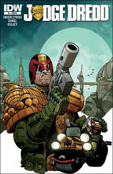 Judge Dredd (2012) 1-E by IDW