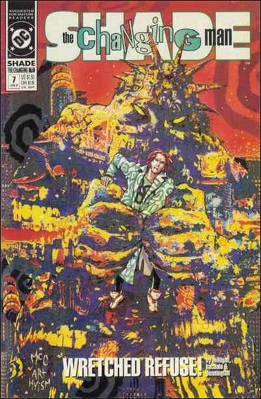 Shade, the Changing Man (1990) 7-A by Vertigo