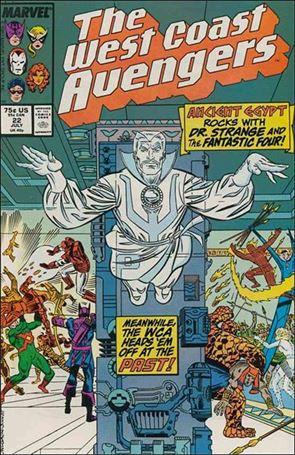 West Coast Avengers (1985) 22-A
