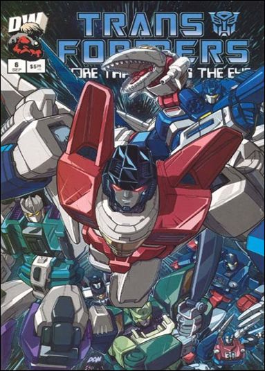 Transformers: More Than Meets the Eye (2003) 6-A by Dreamwave
