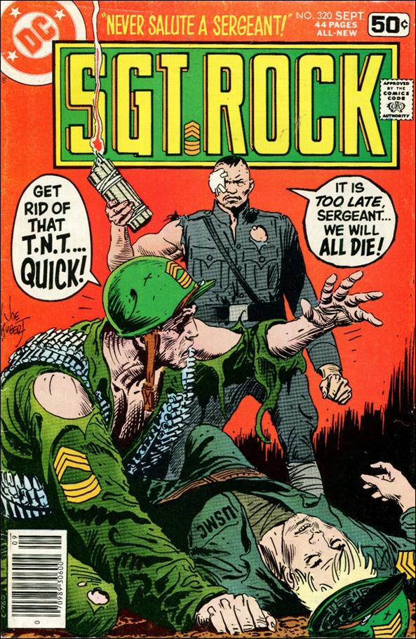 Sgt. Rock (1977) 320-A by DC