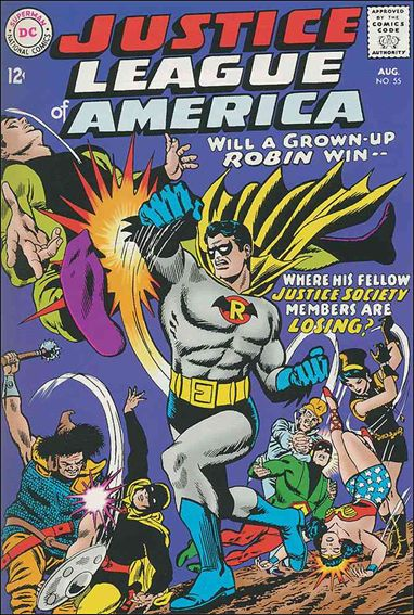 Justice League of America (1960) 55-A by DC