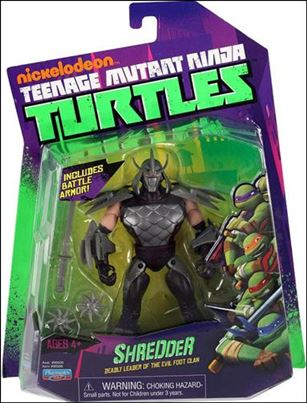 Teenage Mutant Ninja Turtles (2012) Shredder