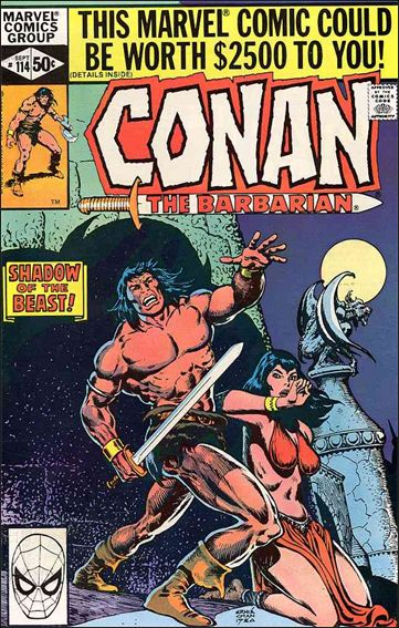 Conan the Barbarian (1970) 114-A by Marvel