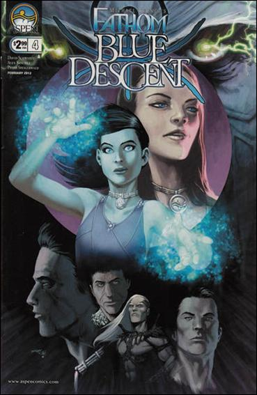 Michael Turner's Fathom: Blue Descent 4-A by Aspen