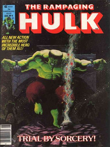 Rampaging Hulk (1977) 4-A by Marvel