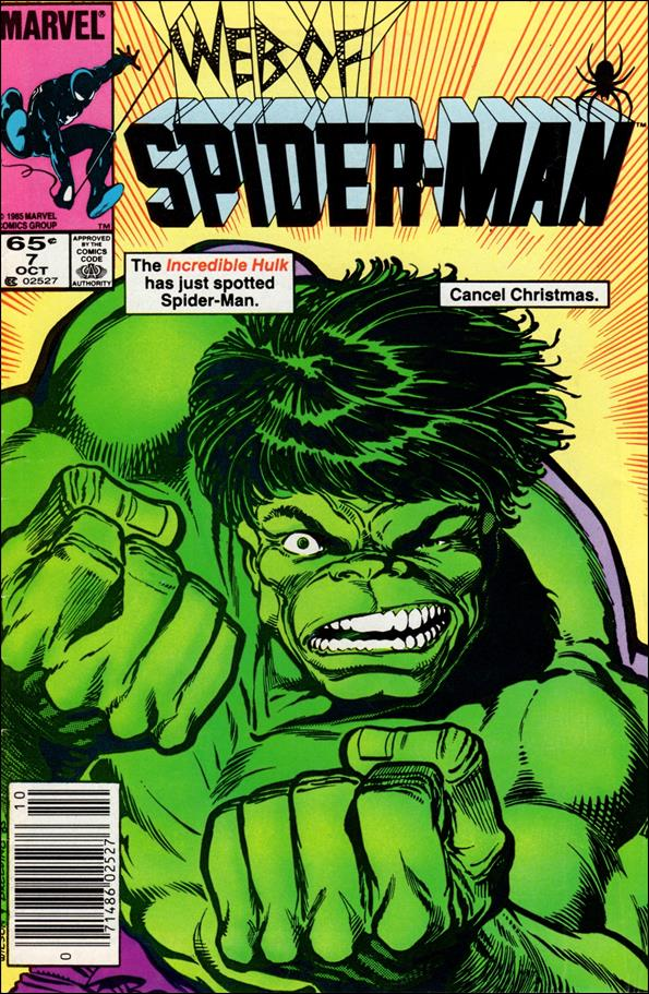 Web of Spider-Man (1985) 7-A by Marvel