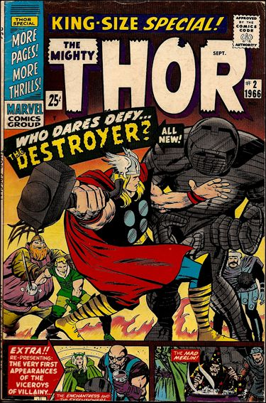 Thor Annual  2-A by Marvel