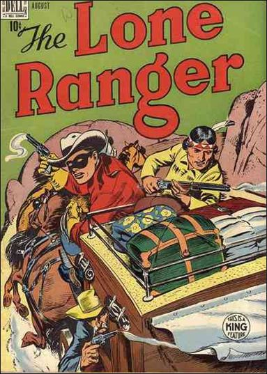 Lone Ranger (1948) 14-A by Dell