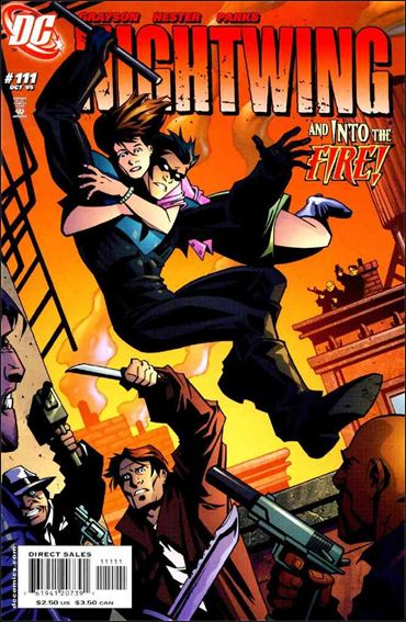 Nightwing (1996) 111-A by DC