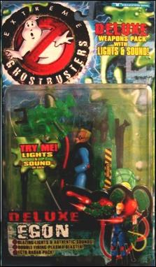 Extreme Ghostbusters (Deluxe Figures) Deluxe Egon by Trendmasters
