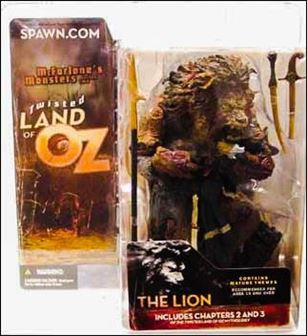 Twisted Land Of Oz The Lion