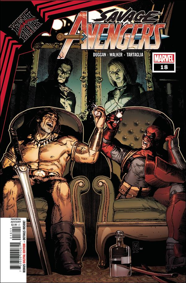 Savage Avengers 18-A by Marvel