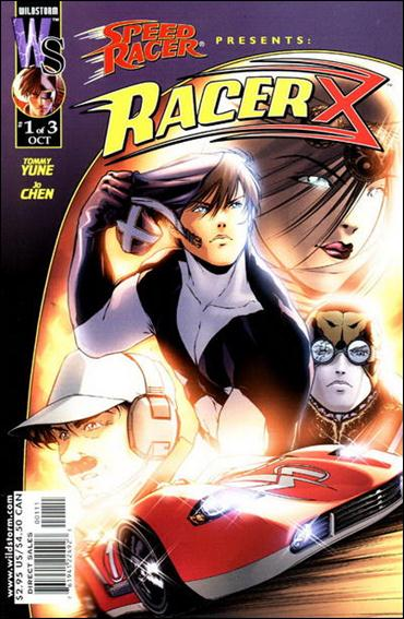 Racer X (2000) 1-A by WildStorm