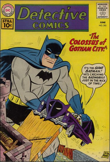 Detective Comics (1937) 292-A by DC