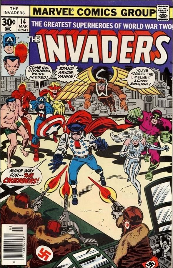 Invaders (1975) 14-A by Marvel