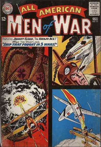All-American Men of War 97-A by DC