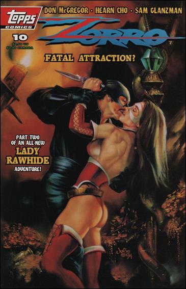 Zorro (1993) 10-A by Topps