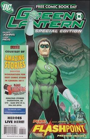 FCBD 2011 Green Lantern Flashpoint Special Edition 1-B