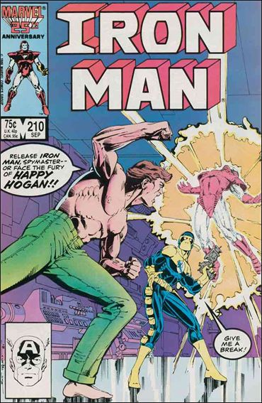 Iron Man (1968) 210-A by Marvel