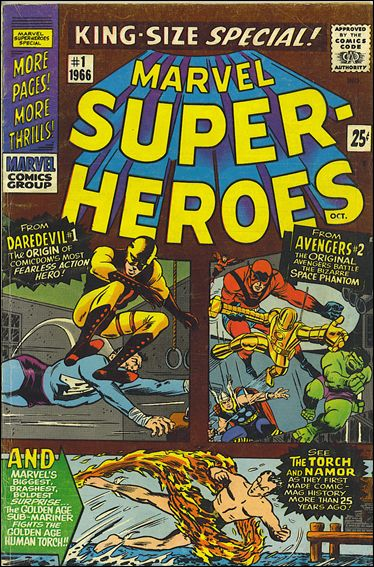 Marvel Super-Heroes (1966) 1-A by Marvel