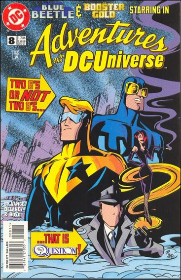 Adventures in the DC Universe 8-A by DC