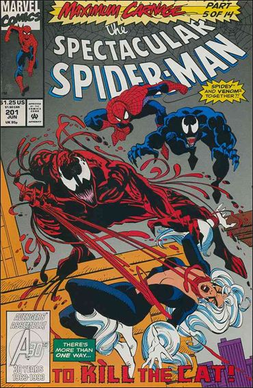 Spectacular Spider-Man (1976) 201-A by Marvel