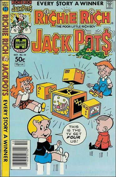 Richie Rich Jackpots 54-A by Harvey