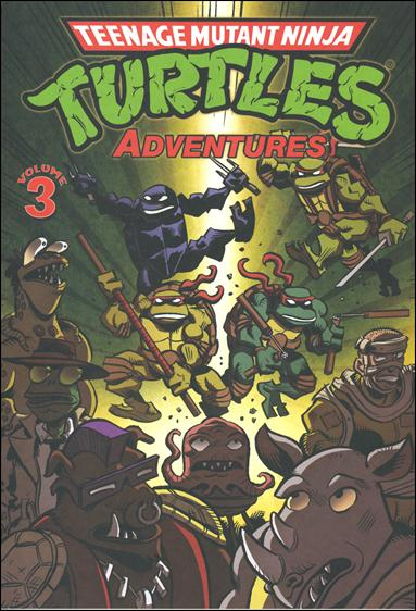 Teenage Mutant Ninja Turtles Adventures (2012)  3-A by IDW