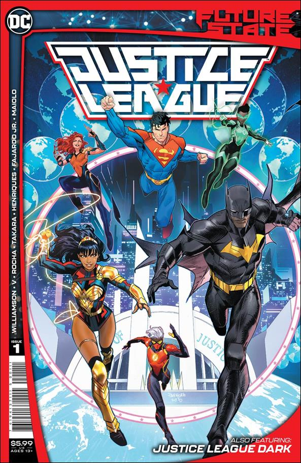 Future State: Justice League 1-A by DC
