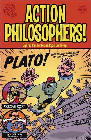 Action Philosophers 1-B by Evil Twin Comics