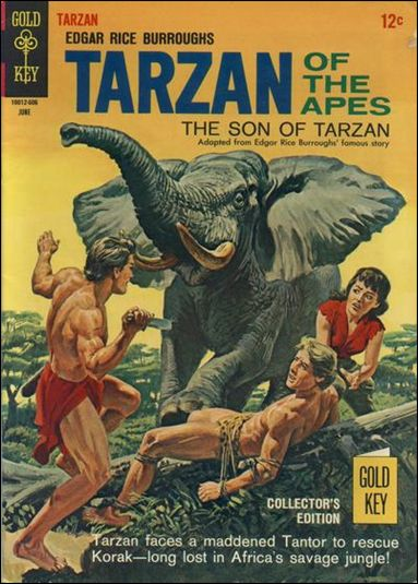 Tarzan (1962) 158-A by Gold Key
