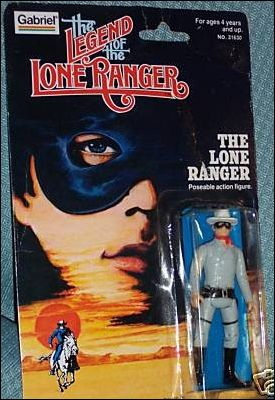 Legend of the Lone Ranger (Movie) Action Figures Lone Ranger by Gabriel