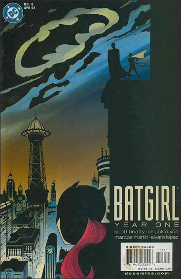 Batgirl Year One 3-A by DC