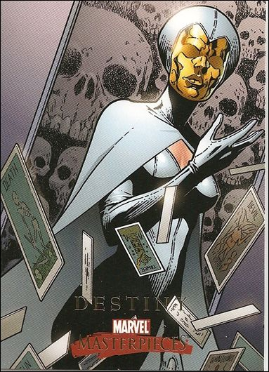 2008 Marvel Masterpieces: Series 2 (Base Set) 17-A by SkyBox
