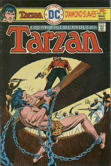 Tarzan (1972) 247-A by DC