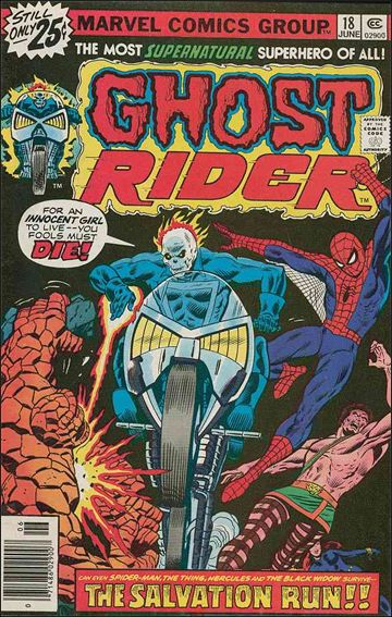 Ghost Rider (1973) 18-A by Marvel