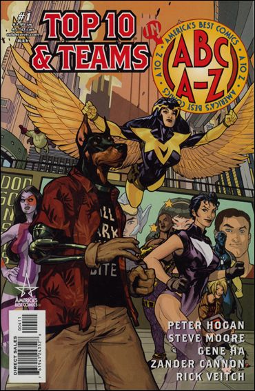 ABC: A-Z, Top 10 and Teams 1-A by America's Best Comics