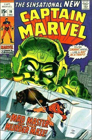 Captain Marvel (1968) 19-A