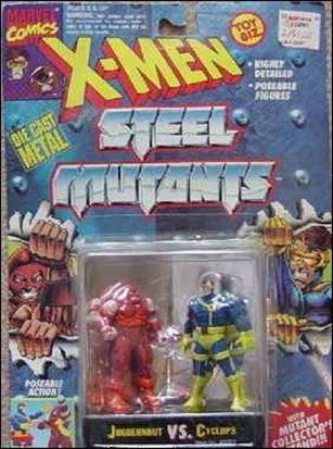 X-Men Steel Mutants (2-Packs) Juggernaut vs Cyclops