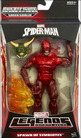 Marvel Legends Infinite: Spider-Man (Green Goblin Series) Spawn of Symbiotes (Toxin)