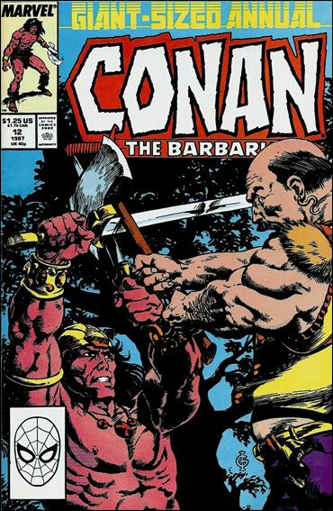Conan Annual 12-A by Marvel