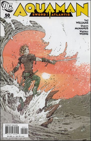 Aquaman: Sword of Atlantis 50-A by DC