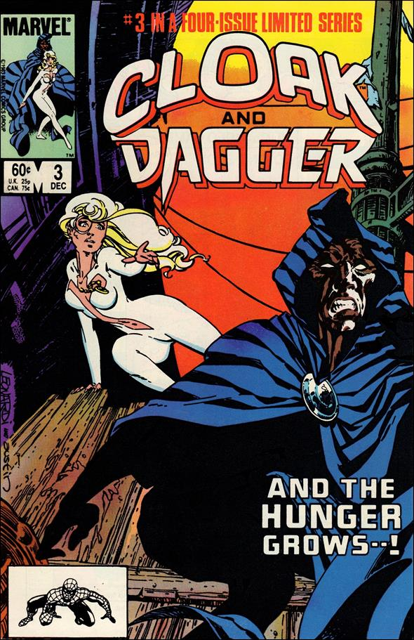 Cloak and Dagger (1983) 3-A by Marvel