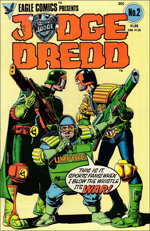 Judge Dredd (1983) 2-A by Eagle Comics