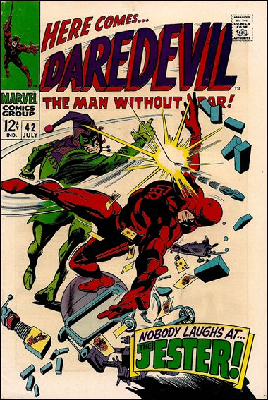 Daredevil (1964) 42-A by Marvel