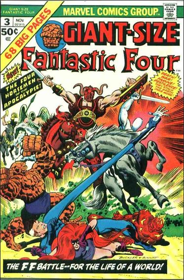 Giant-Size Fantastic Four 3-A by Marvel