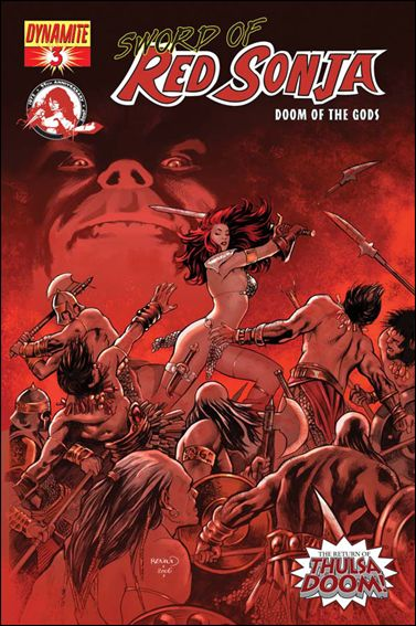 Sword of Red Sonja: Doom of the Gods 3-B by Dynamite Entertainment